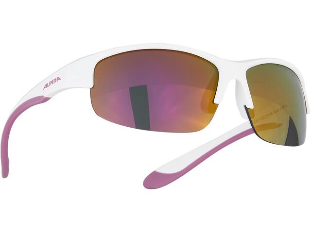 Alpina Flexxy HR Gafas Jóvenes, blanco/violeta